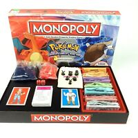 Hasbro Pokemon Monopoly Kanto Edition Board Game Family Games Night