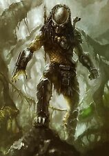 "Alien Vs. Predator Movie Silk Cloth Poster 20x13"" Decor 05"