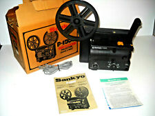 Sankyo P-1500 Super 8 Silent Movie Projector Complete in Box WORKING  NICE