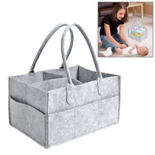 New Baby Diaper Caddy Infant Nappy Changing Organizer Practical Storage Basket
