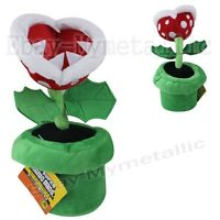 "Super Mario Bros Piranha Plant 20cm / 8"" Soft Plush Stuffed Doll Toy #02"