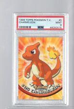 1999 TV Animation Topps  05 5 CHARMELEON PSA 9 MINT Pokemon