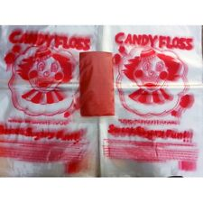 Candy floss bags 1x100, plastic bags, candy floss, cotton candy, floss machine