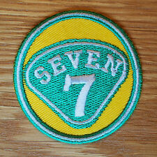 Motor Racing Car Cloth Patch Race Suit SEVEN 7 Haynes Ron Champion Tiger Lotus