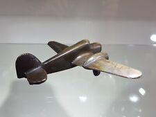 Vintage Solid Bronze Aeroplane