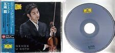 RYU GOTO Legende 2015 Japanese promo sample CD
