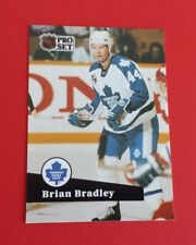 1991/92 Pro Set Hockey Brian Bradley Card #489**Toronto Maple Leafs**