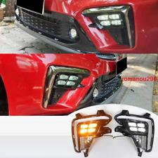 For Kia Forte Cerato 2019-2020 LED Front Bumper Fog Lamp / Turn Signal Lamp