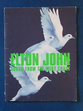 Elton John - Concert Tour Programme 2002 - Songs From the West Coast
