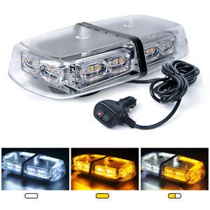 Xprite 36 LED Rooftop Mini Strobe Light Bar w/ Magnetic Base Emergency Warning