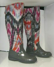 new De Blossom Collection gray  Snow Sexy Knee Boot Warm Lining Size 6.5