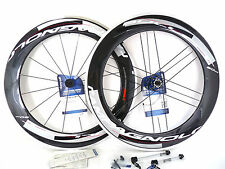 Campagnolo BULLET wheelset 11 speed 80mm Carbon Clincher 9/10/11 Wheel NEW!