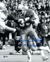 TONY DORSETT SIGNED AUTOGRAPHED 8x10 PHOTO + 1976 HEISMAN PITT RARE BECKETT BAS