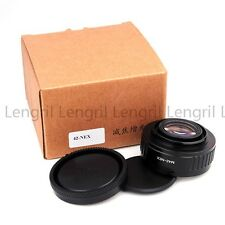 Focal Reducer Speed Booster lens adapter for M42 to Sony E-Mount NEX 7 c3 A6000