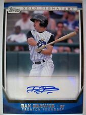 2011 TOPPS PRO DEBUT SOLO SIGNATURES DAN BREWER !!,BOX # 31