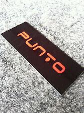 Patch velcro per Tappetini auto  FIAT GRANDE PUNTO - PUNTO EVO - PUNTO RED
