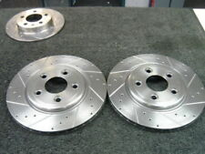 ACCORD 2.3 TYPE V DRILLED GROOVED FRONT  BRAKE DISCS