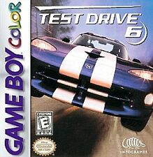 Test Drive 6  (Game Boy Color,GBA, SP 1999)