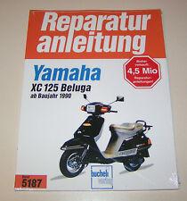 Reparaturanleitung Yamaha Motorroller XC 125 Beluga - ab 1990!