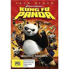 KUNG FU PANDA - BRAND NEW & SEALED DREAMWORKS DVD (JACK BLACK)