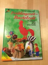 Oster-Bastelhefte und ein Buch 6 Stück