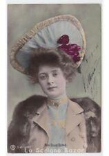 BILLIE BURKE attrice foto cartolina RPH d'epoca donna cappello glamour fashion