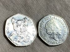 Rare And Collectible Beatrix Potter Tom Kitten 50p Fifty Pence Coin