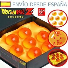 Dragon Ball ♦ Bolas de Dragón XXL 8cm  Originales BANDAI♦ 7 Bolas del dragon XXL