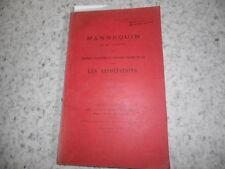 1899.Mannequin de Jacquin.Critique loi contre associations.Robert