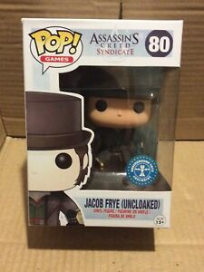 Funko Pop Jacob Frye (uncloaked) #80 Assassin's Creed Syndicate Damaged Box