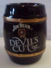 Jim Beam Devil's Cut 90 Proof Trademark Barrel Shot Glass