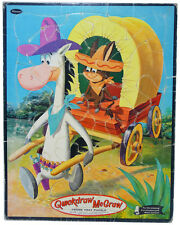 Whitman QUICKDRAW McGRAW Frame Tray PUZZLE (1960) Complete!