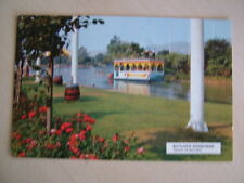 """Postcard - BUTLIN'S MINEHEAD, """"QUEEN OF THE LAKE"""". Used 1974. Standard size. (2)"""