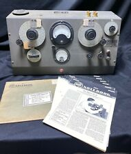 1946 Boonton Q-Meter Type 160-A Tests Q-Factor of Radio Components