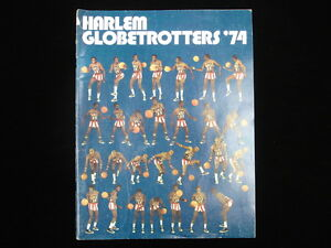 1974 Harlem Globetrotters Basketball Yearbook