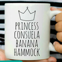 Friends Princess Consuela Banana Hammock Mug Funny Friend Coffee Mugs Gift Cup