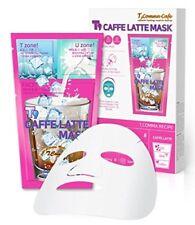 Korean Mask - Caffe Latte 3-Step Facial Sheet - Pack of 6