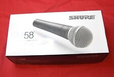 Shure SM58 Vocal Microphone boxed with accessories free deliivery