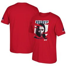 Ronda Rousey Reebok 2016 UFC International Fight Week Poster Red T-Shirt- XL