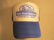 NWOT Men's Cap SKAT BLAST Glass Bead Cabinets OHIO Size: Adjustable [Z164d]