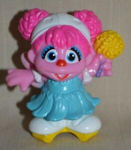 Sesame Street Figure Fairy Abby Cadabby on Rollerskates Toy Figure