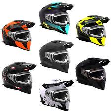509 Delta R3L Ignite Helmet Dual Pane Electric Shield Dot Ece Certified Snocross