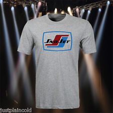 Sno-Jet vintage snowmobile style t-shirt with rectangular logo