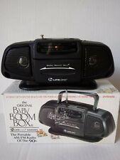 The Original Baby Boom Box Fm/Am Portable Mini Radio Of The 90'S Box New!