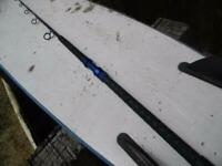 CALSTAR CUSTOM  WRAP 6455L 5 1/2 FT. BIG GAME FISHING ROD WITH NEW GRIPS