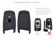 BMW 3 Button/Smart/Key/Cover/Case Remote Fob Protector Silicone 3/5/7 Series