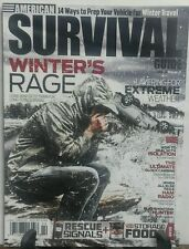 Survival Guide February 2016 Winter's Rage Extreme Weather FREE SHIPPING sb