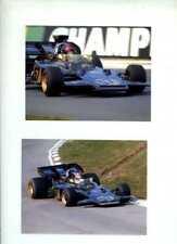 Emerson FITTIPALDI JPS Team Lotus 72 fotografías X 4