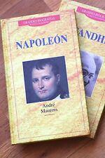 GANDHI, GRANDES BIOGRAFÍAS (Woodcock, Libro). EDITORIAL PLANETA, NUEVO!