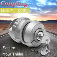 Insertable Hitch Lock Trailer Coupling Hitch Lock Tow Ball Caravan For SecuritDD